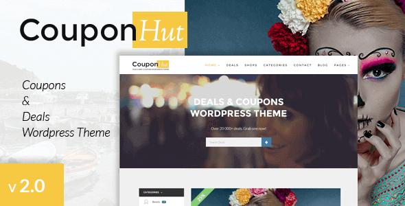 Couponhut – Coupons & Deals Wordpress Theme