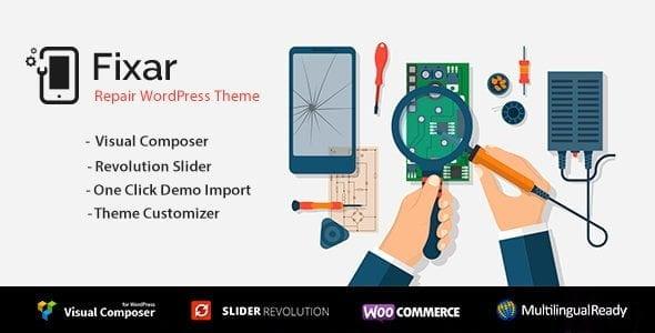 Fixar - Phone & Computer Repair Theme