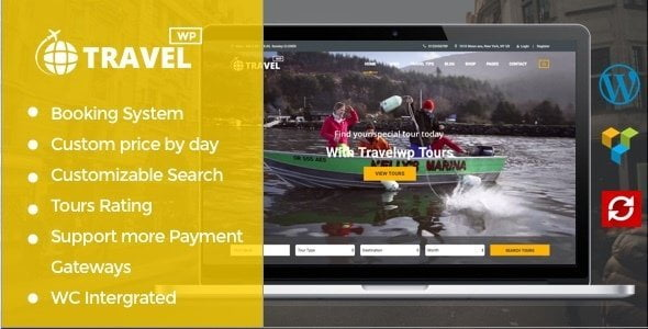 Travel Wp - Tour & Travel Wordpress Theme For Travel Agency And Tour Operator