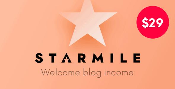 Starmile | Multi-Purpose Blog Wordpress Theme