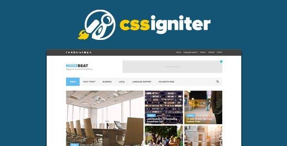 Cssigniter – Roxima Wordpress Theme