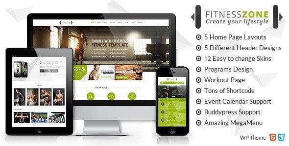 Fitness Zone | Gym & Fitness Theme