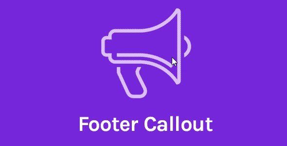 Oceanwp – Footer Callout