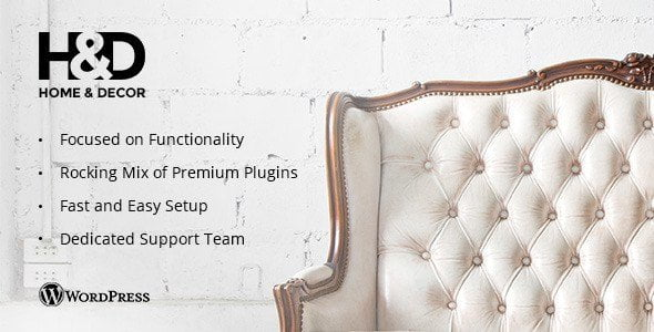 H&D – Interior Design Wordpress Theme