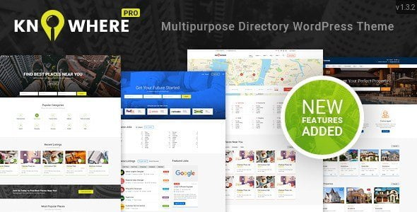 Knowhere Pro – Multipurpose Directory Wordpress Theme