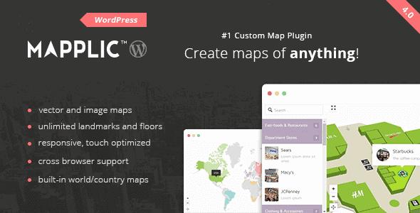 Mapplic – Custom Interactive Map Wordpress Plugin