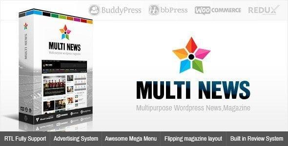 Multinews – Multi-Purpose Wordpress News