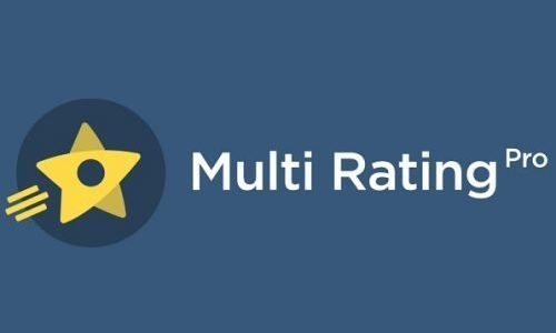 Multi Rating Pro – A Powerful Rating System And Review Plugin For Wordpress