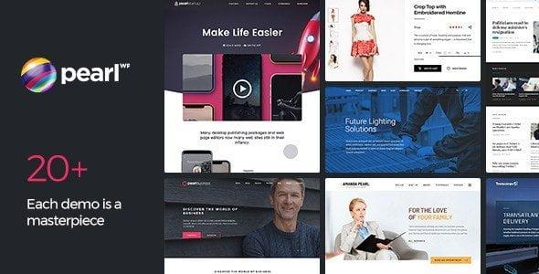Pearl – Multipurpose & Corporate Business Wordpress Theme
