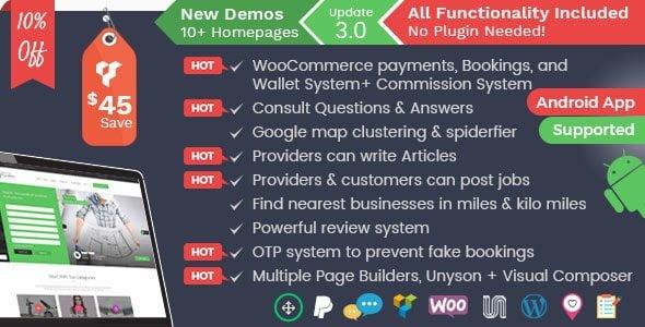 Listingo - Service Providers
