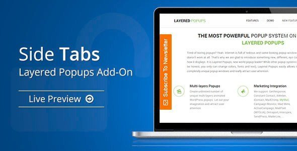 Side Tabs – Layered Popups Add-On