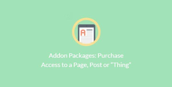 Paid Memberships Pro – Addon Packages: Purchase Access To A Page