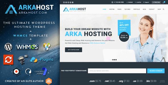 Arka Host – Whmcs Hosting