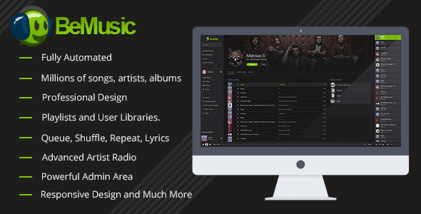 Bemusic – Music Streaming Engine