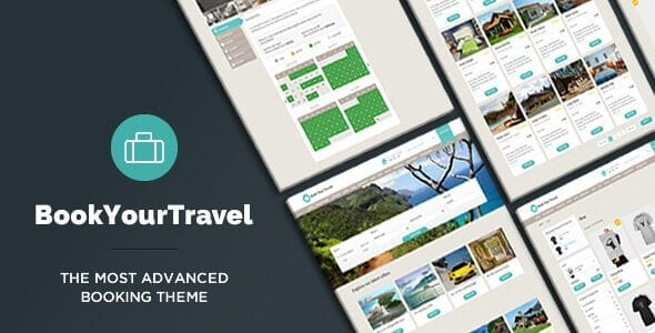 Book Your Travel – Online Booking Wordpress Theme