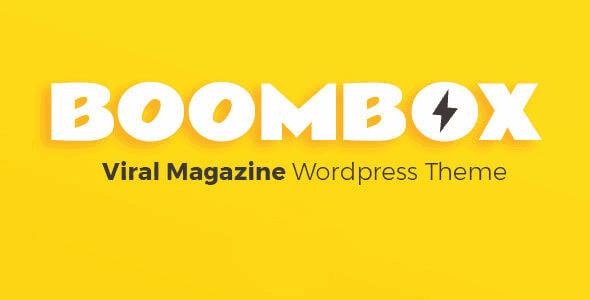 Boombox – Viral & Buzz Wordpress Theme