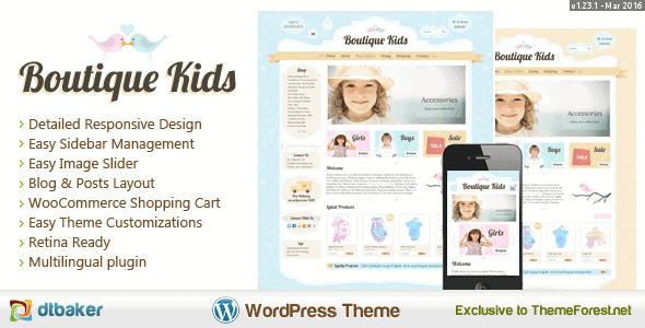 Boutique Kids Creative – Wordpress Woocommerce