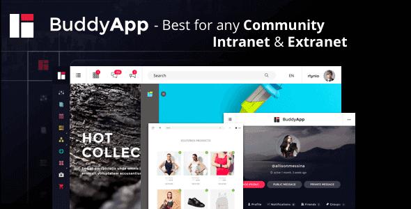 Buddyapp – Mobile First Community Wordpress Theme