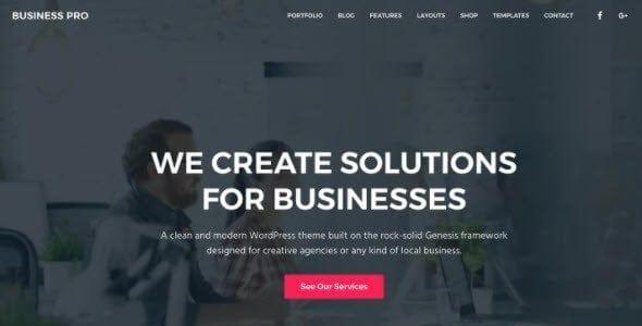 Studiopress – Business Pro Theme