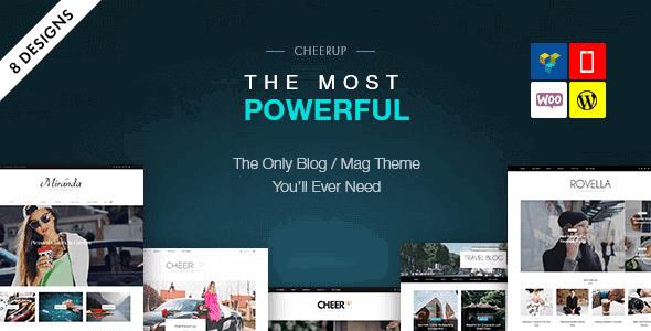 Cheerup – Blog Magazine Wordpress Blog Theme
