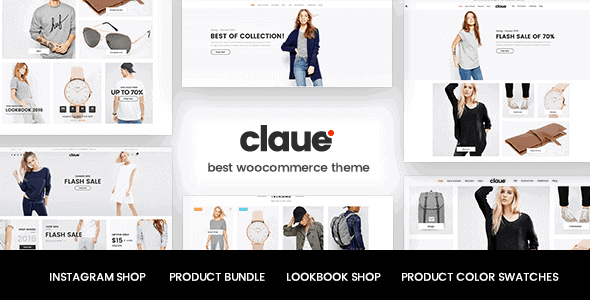 Claue – Clean Minimal Woocommerce Theme