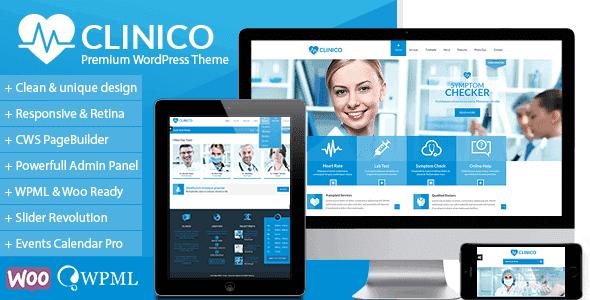 Clinico – Premium Medical And Health Theme