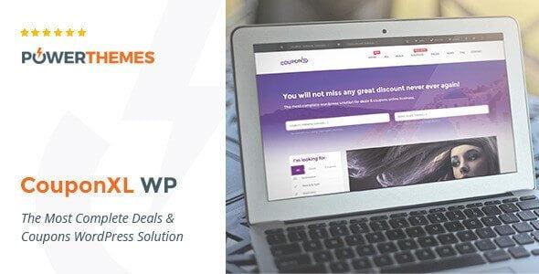 Couponxl – Coupons Deals & Discounts Wp Theme