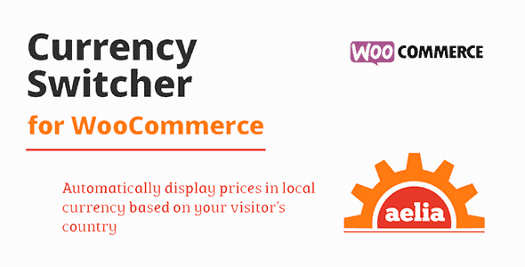 Aelia Currency Switcher For Woocommerce