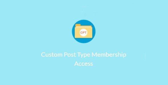 Paid Memberships Pro – Custom Post Type Membership Access