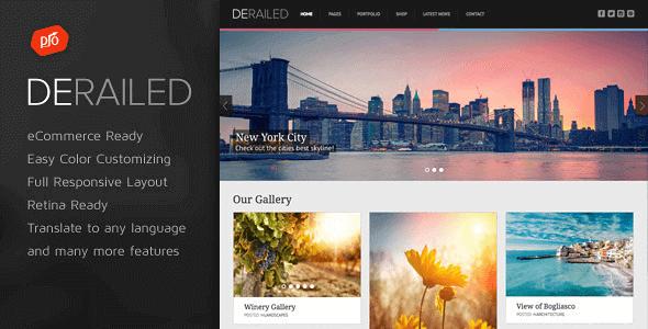 Derailed – Photography & Portfolio Theme