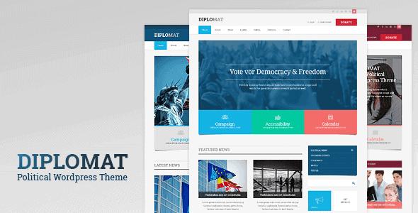 Diplomat – Political Wordpress Theme