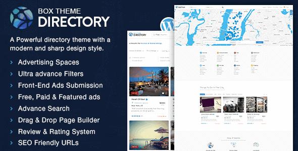 Directorybox – Multi-Purpose Wordpress Theme