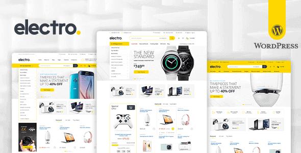 Electro – Electronics Store Woocommerce Theme
