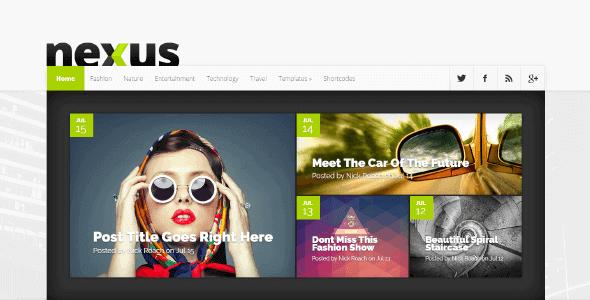 Nexus – Versatile Magazine Theme