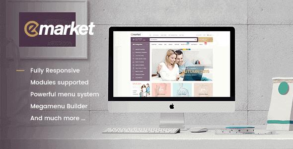 Emarket – Multi-Purpose Woocommerce Wordpress Theme