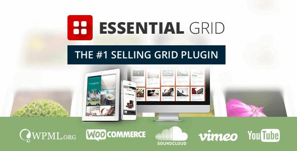 Essential Grid – Wordpress Grid Building Solution