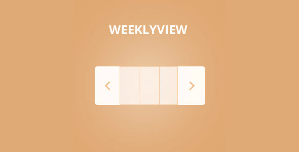 Eventon Weekly View Addon