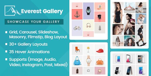 Everest Gallery – Responsive Wordpress Gallery Plugin