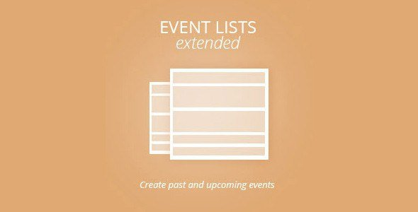 Eventon: Events Lists Extended