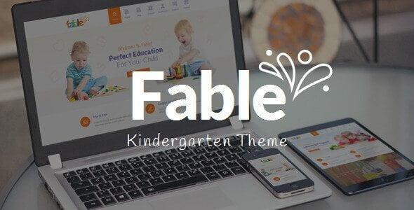 Fable – Children Kindergarten Wordpress Theme