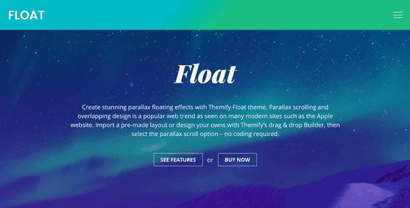 Themify Float - Wordpress Theme