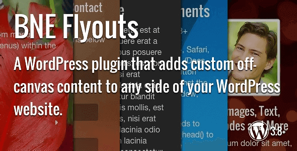 Flyouts – Off Canvas Custom Content For Wordpress