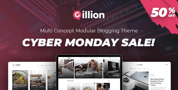 Gillion – Multi-Concept Magazine