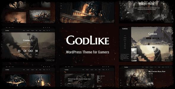 Godlike – Game Theme For Wordpress