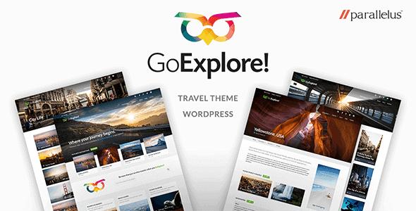Goexplore – Travel Wordpress Theme