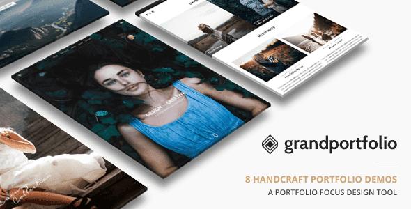 Grand Portfolio – Responsive Portfolio