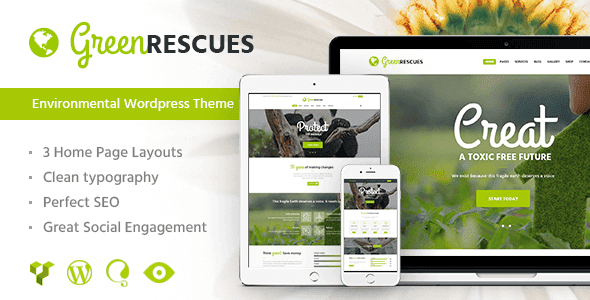 Green Rescues – Environment Protection Theme