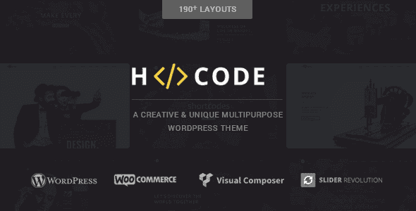 H-Code – Responsive & Multipurpose Wordpress Theme