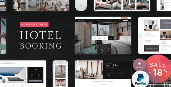 Hotel Booking – Hotel Wordpress Theme