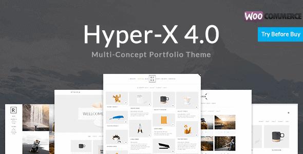 Hyperx – Portfolio For Freelancers And Agencies
